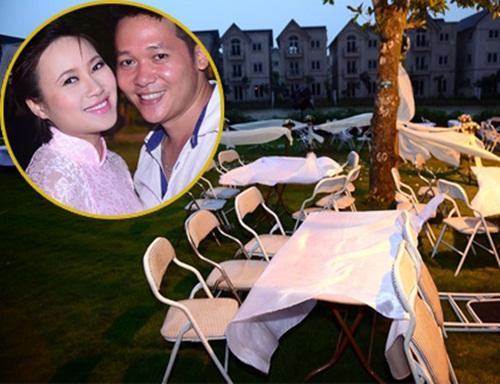 Sao Việt dở khóc dở cười vì đám cưới gặp sự cố 7