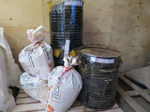 Độc dược vàng ô được bày bán tràn lan ở Hà Nội 1