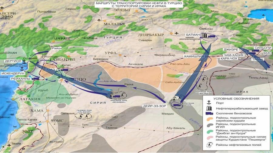 Nga trưng bằng chứng gia đình Tổng thống Thổ Nhĩ Kỳ buôn dầu với IS 3
