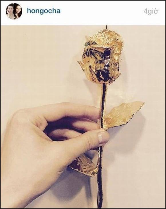 Vợ đại gia lên tiếng ám chỉ việc Hà Hồ khoe nhẫn kim cương, hoa hồng vàng  2