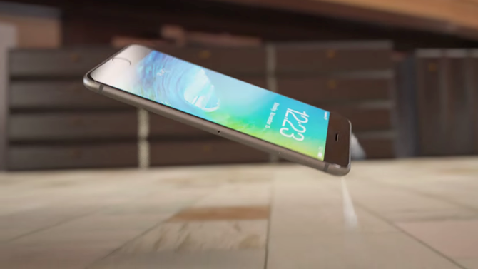 Không thể tin nổi ý tưởng iPhone 7 'hạ cánh' như tàu vũ trụ 1
