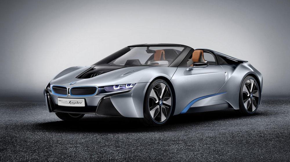 BMW i8 mui trần phiên bản sản xuất chuẩn bị trình làng 1