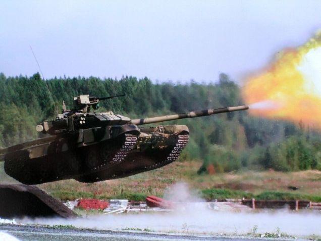 Nga triển khai 'siêu tăng' T-90 đến Syria 2