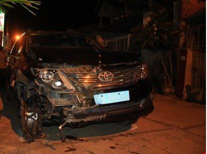 Hình ảnh Đình chỉ công tác Viện trưởng VKSND huyện gây tại nạn liên hoàn số 1