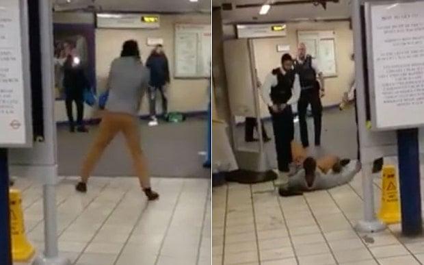 Kẻ khủng bố ga tàu điện ngầm Anh hét lớn