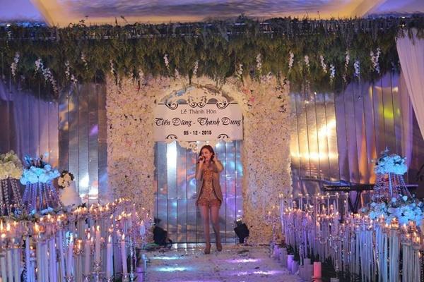 Hoàng Thuỳ Linh đi hát trong đám cưới hơn 60 tỷ ở Quảng Ninh 1