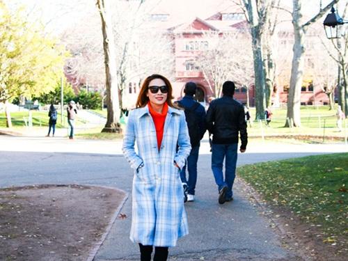 Mỹ Tâm thăm sinh viên Việt Nam tại Đại học Harvard 8