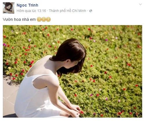Facebook sao Việt: Angela Phương Trinh bất ngờ mặc váy cưới 11