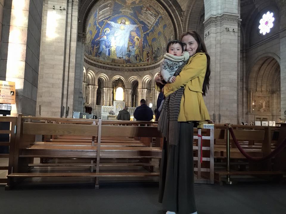 Khoảnh khắc ngọt ngào của Diễm Hương cùng chồng và con trai 3