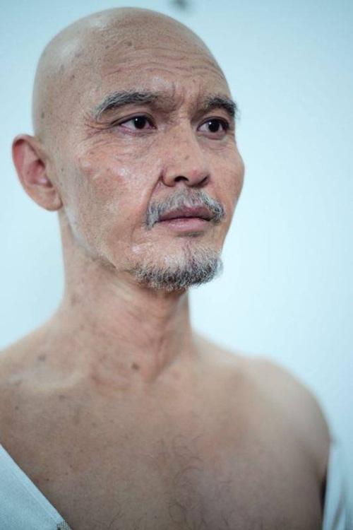 Bất ngờ với hình ảnh già nua của Huỳnh Hiểu Minh 1