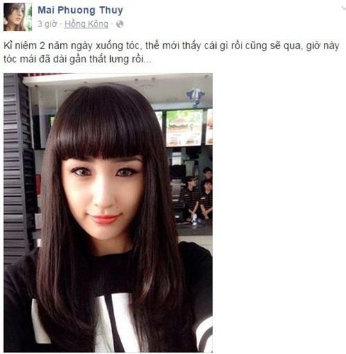 Facebook sao Việt: Ngọc Trinh và cách nhìn nhận về tình yêu 11
