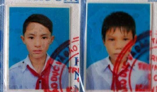 Hai học sinh lớp 9 mất tích sau khi đi học thêm 1