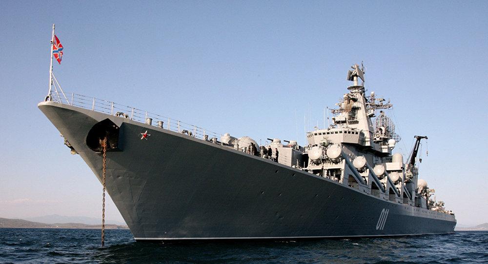 Nga điều siêu tuần dương hạm trang bị tên lửa đến Syria 1