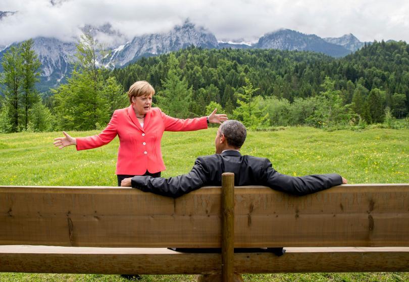 """10 bức ảnh tiết lộ lý do bà Merkel trở thành """"nhân vật của năm 2015"""" 5"""