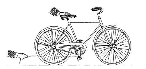 Độc giả đau đầu giải bài toán về xe đạp 1
