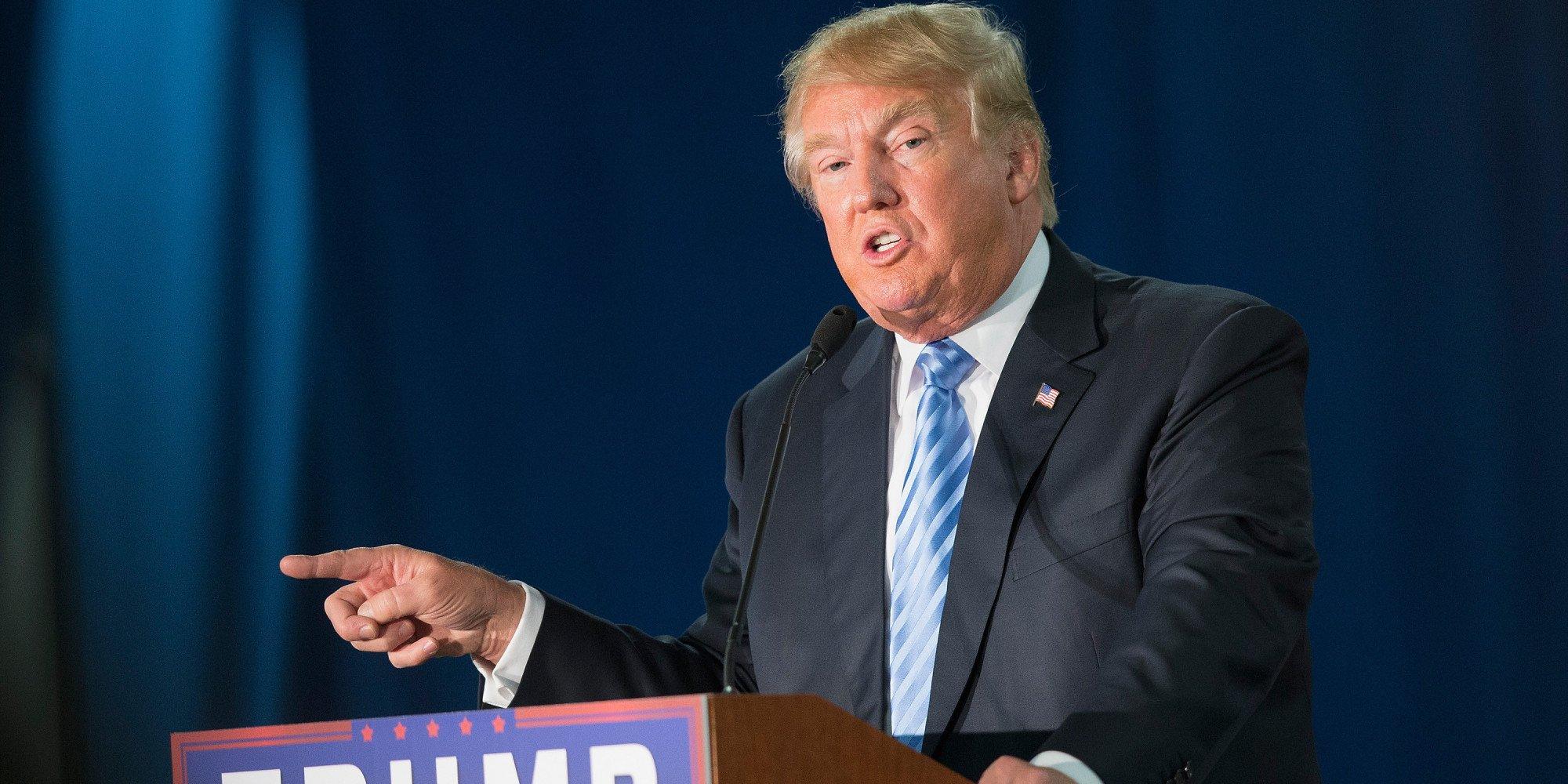Huffington Post: Donald Trump không được đưa tin cả trong mục Giải trí  1