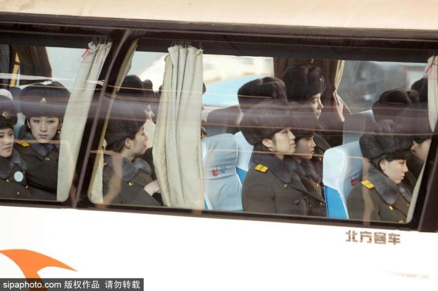 Hình ảnh Những hình ảnh đầu tiên của đoàn giao lưu Triều Tiên tại thủ đô Bắc Kinh số 3