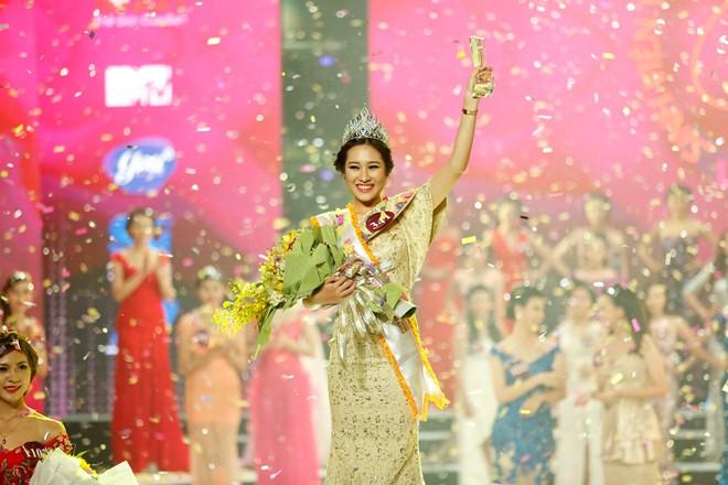 Chân dung xinh đẹp của hoa khôi Nữ sinh Việt Nam duyên dáng 2015 1