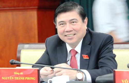 Ông Nguyễn Thành Phong được giới thiệu làm Chủ tịch UBND TP HCM 1