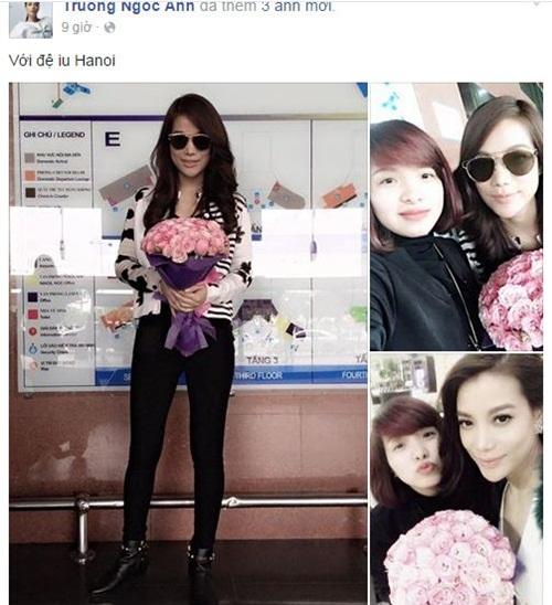 Facebook sao Việt: Tình mới Cường Đô la tươi rói xuống phố 9