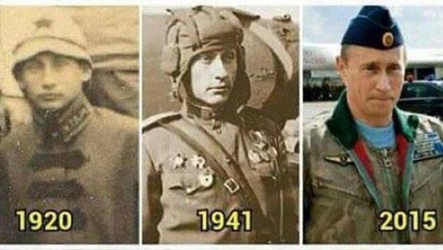 2 bức chân dung giống Tổng thống Putin đến ngỡ ngàng 1
