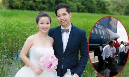 Những đám cưới tiền tỷ 'dậy sóng' của nhà giàu Việt năm 2015 3