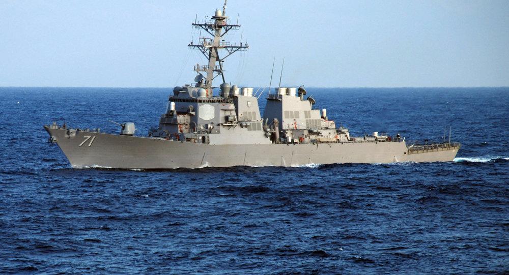 """Mỹ """"lờ"""" Trung Quốc, định bán tàu khu trục cho Đài Loan 1"""