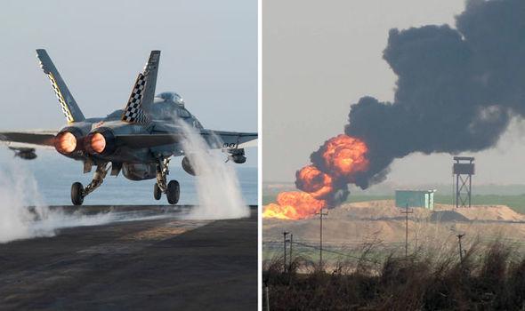 Mỹ đưa tàu sân bay hạt nhân đến 'quét sạch' IS ở Trung Đông 4