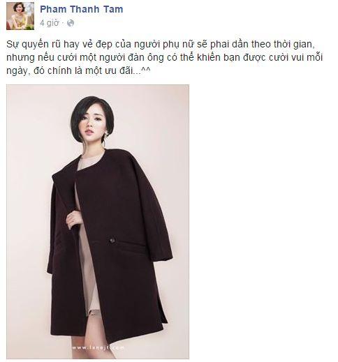 Facebook sao Việt:  Midu rạng rỡ sau tin đồn chia tay với Phan Thành 10