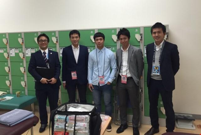 Công Phượng ký hợp đồng với Mito Hollyhock tại TP.HCM 1