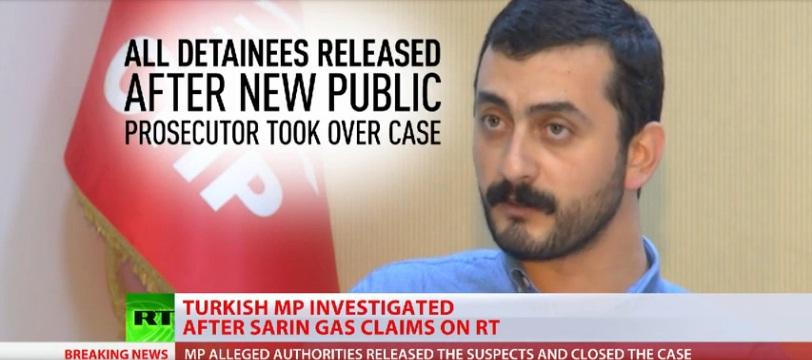 Tiết lộ IS buôn sarin qua Thổ Nhĩ Kỳ, nghị sĩ bị buộc tội phản quốc 1