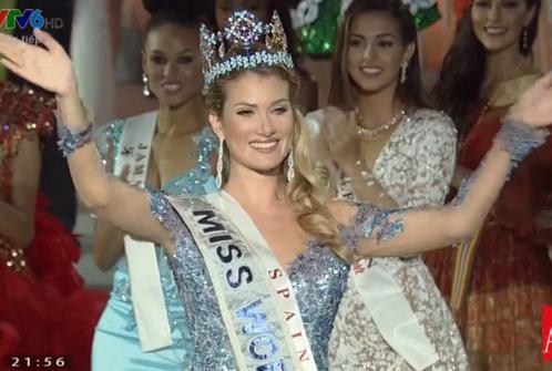 Hoa hậu Tây Ban Nha đăng quang Hoa hậu thế giới 2015 1