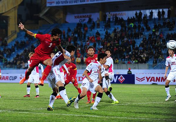 U23 Việt Nam tìm kiếm 'quân xanh' chất lượng trước VCK U23 châu Á 1