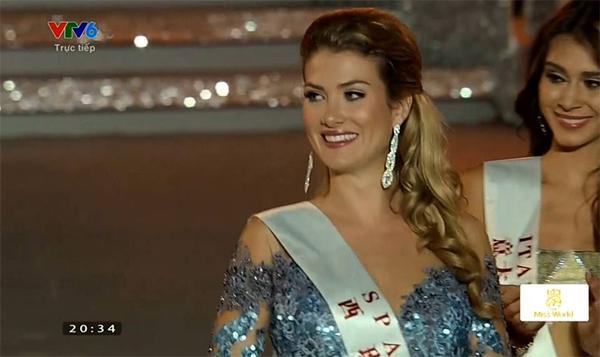 Ngắm nhan sắc người đẹp Tây Ban Nha đăng quang Hoa hậu Thế giới 2015 6