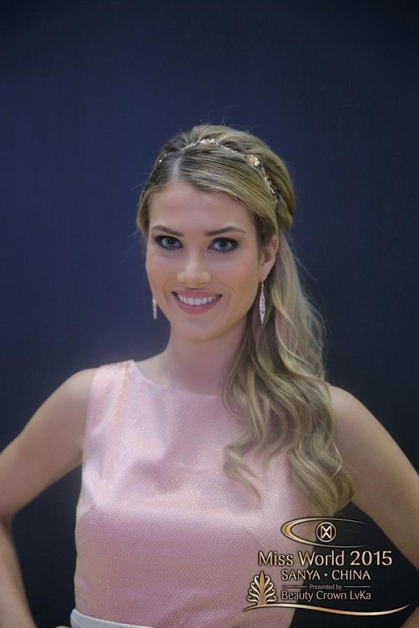 Ngắm nhan sắc người đẹp Tây Ban Nha đăng quang Hoa hậu Thế giới 2015 11