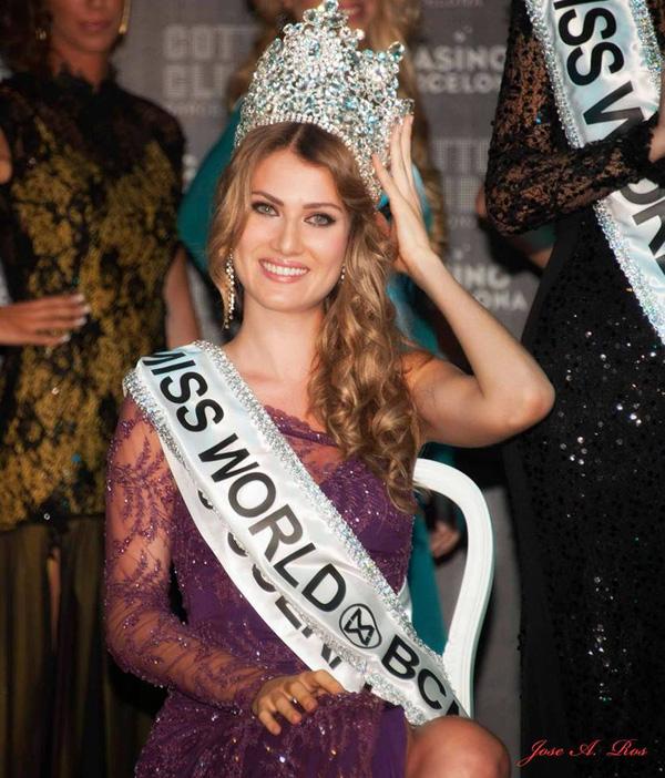 Ngắm nhan sắc người đẹp Tây Ban Nha đăng quang Hoa hậu Thế giới 2015 12