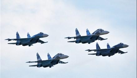 Bốn chiến đấu cơ Nga tháp tùng Tổng thống Syria sang Iran  1
