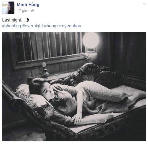 Facebook sao Việt: Thu Minh khoe dáng 'cạnh tranh' với Hoa hậu Hoàn vũ 12