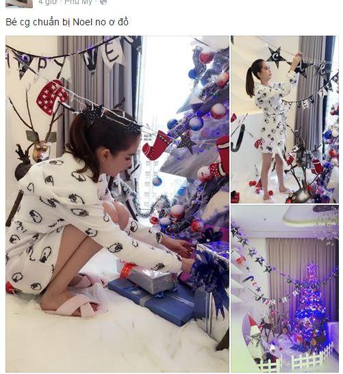 Facebook sao Việt: Thu Minh khoe dáng 'cạnh tranh' với Hoa hậu Hoàn vũ 4