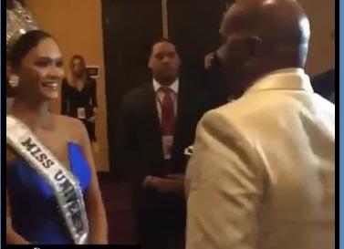 MC gặp riêng cúi gập người xin lỗi người đẹp Philippines sau sự cố HHHV 2015 1