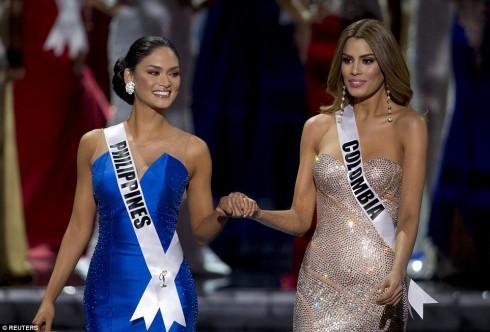 Lộ đoạn ghi âm giám khảo trao đổi về Hoa hậu Philippines, Colombia 1