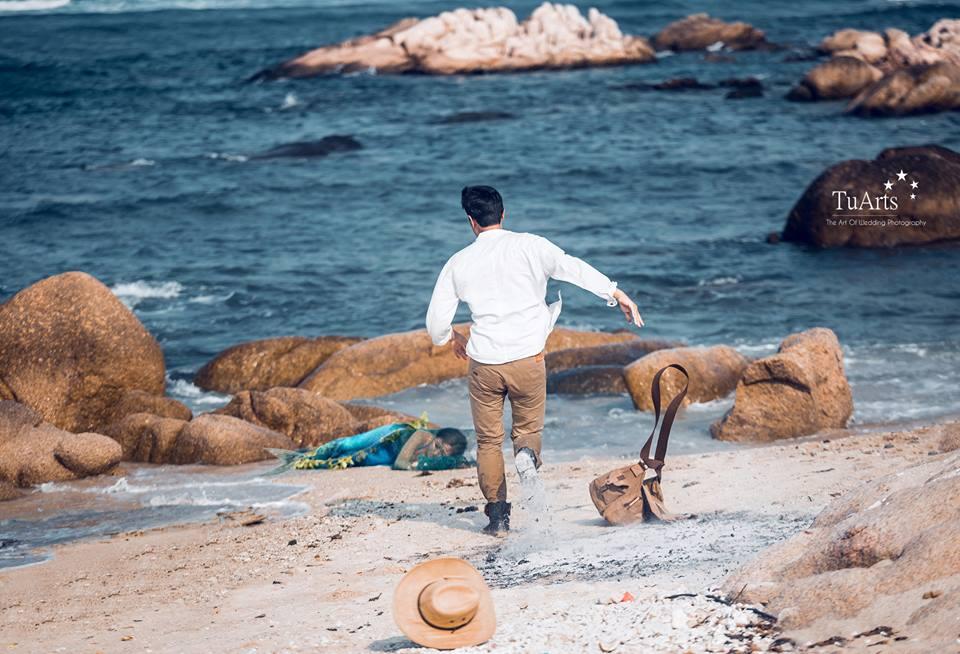 Hình ảnh Trọn bộ ảnh cưới nàng tiên cá gây xôn xao số 5