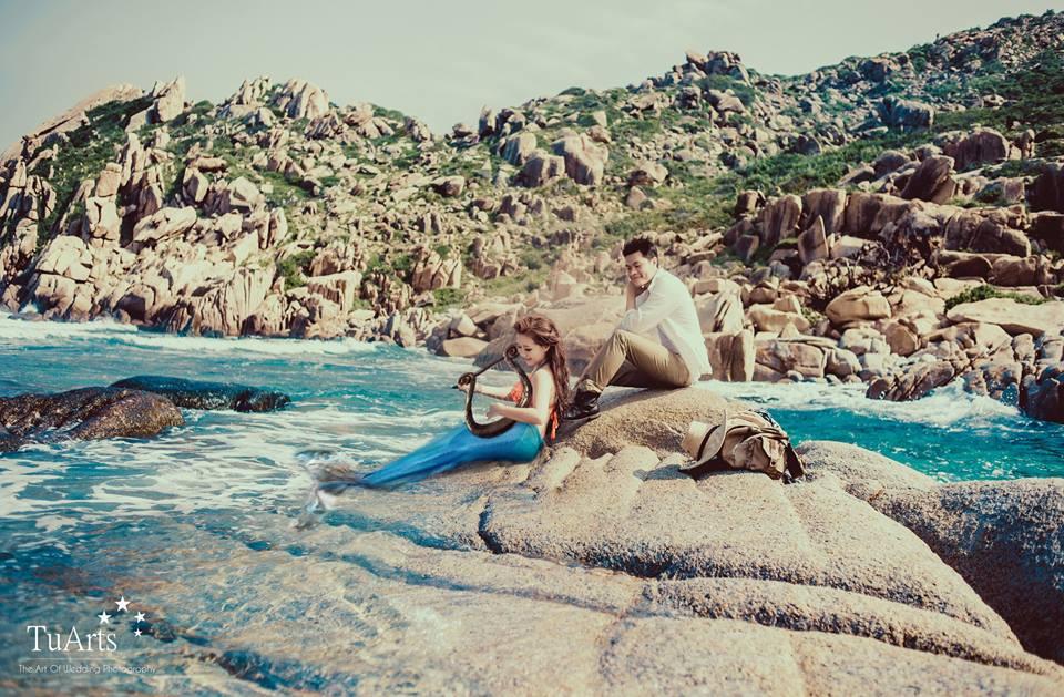 Hình ảnh Trọn bộ ảnh cưới nàng tiên cá gây xôn xao số 9