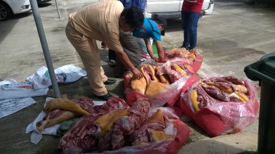 Đà Nẵng: Phát hiện gần 500kg thịt thối cung cấp cho nhà hàng 1