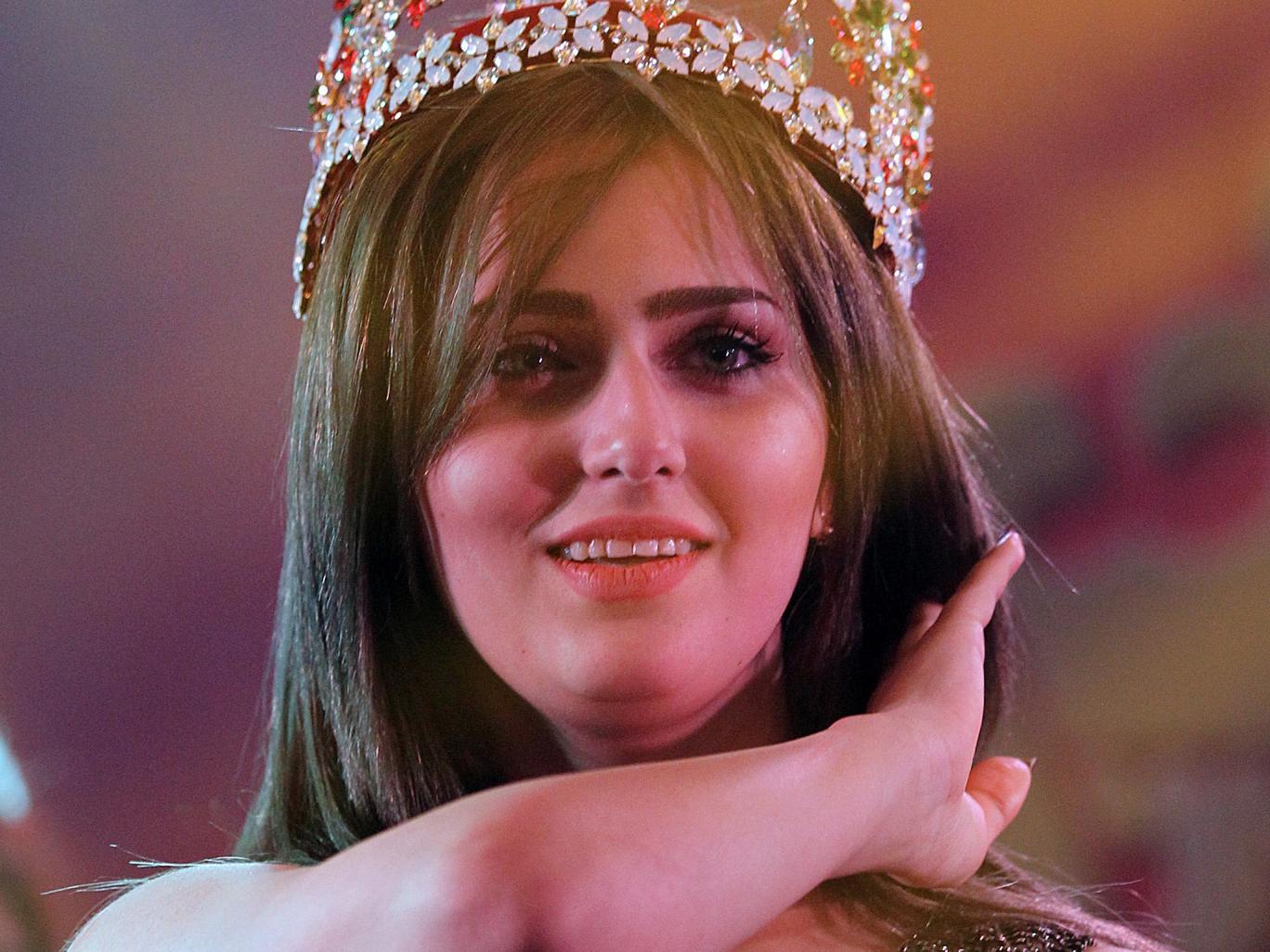 Cận cảnh nhan sắc Hoa hậu Iraq bị IS dọa bắt cóc 1