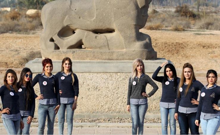 Cận cảnh nhan sắc Hoa hậu Iraq bị IS dọa bắt cóc 6