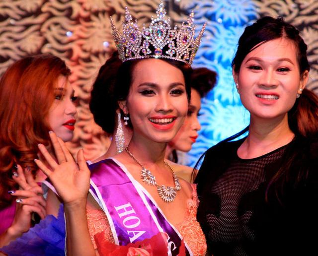 Nhan sắc hoa hậu chuyển giới đầu tiên ở Việt Nam 1