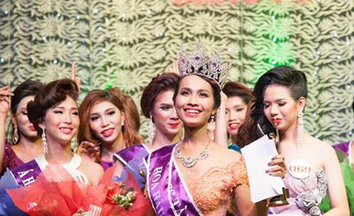 Nhan sắc hoa hậu chuyển giới đầu tiên ở Việt Nam 2