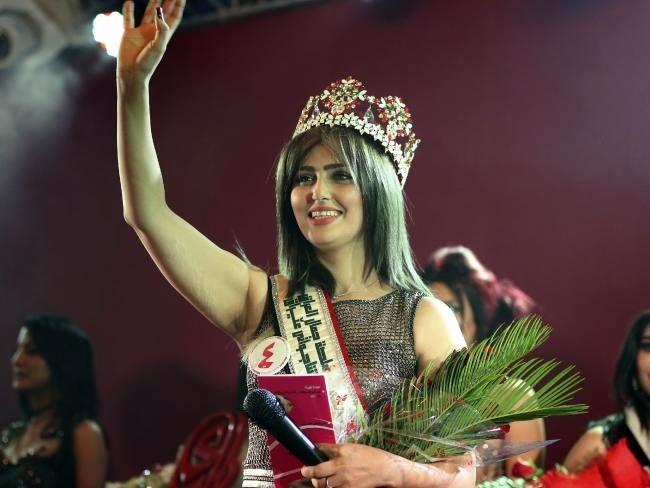 Hoa hậu Iraq bị IS đe dọa bắt cóc 1