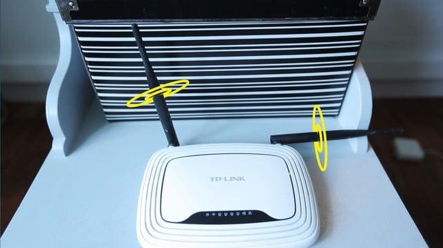 Hình ảnh 3 bước cơ bản giúp tăng cường sóng wifi số 2